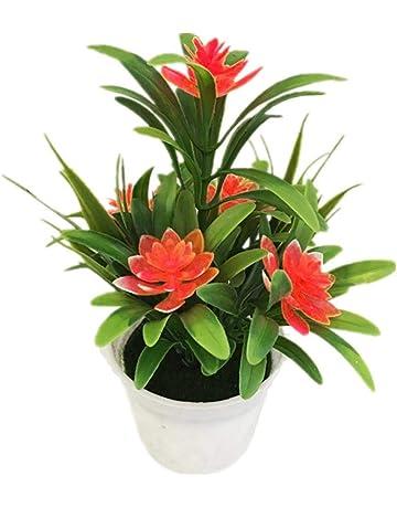 Plantas y flores artificiales | Amazon.es