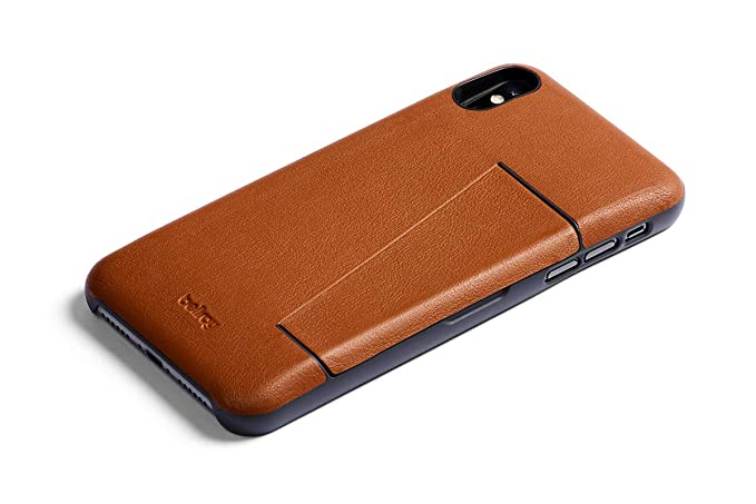 more photos 76e69 3ab9d Bellroy Leather iPhone XR Phone Case - 3 Card - Caramel