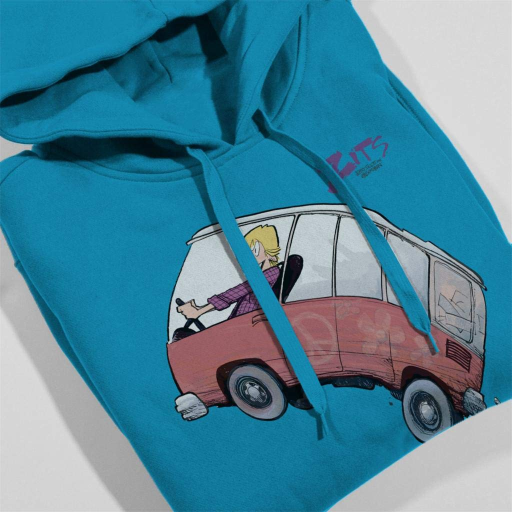 Comics Kingdom Zits Jeremy Driving Mens Hooded Sweatshirt