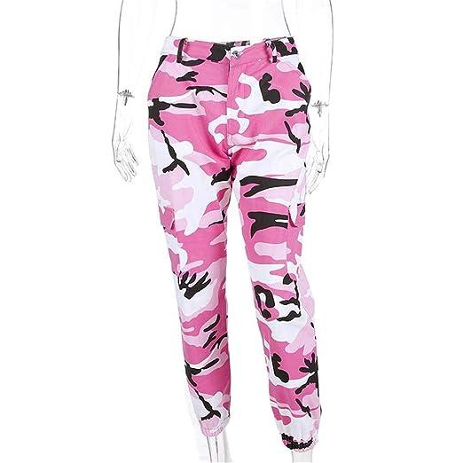 Pantalones deportivos para mujer, Pantalones de carga de las ...