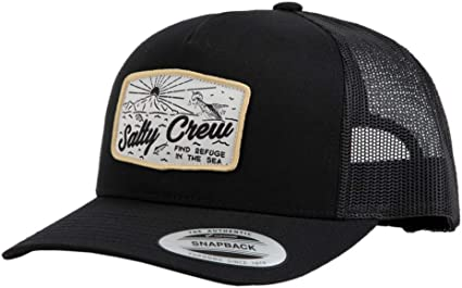 detailed images separation shoes exclusive deals Salty Crew Frenzy Retro Trucker Black One Size at Amazon Men's ...