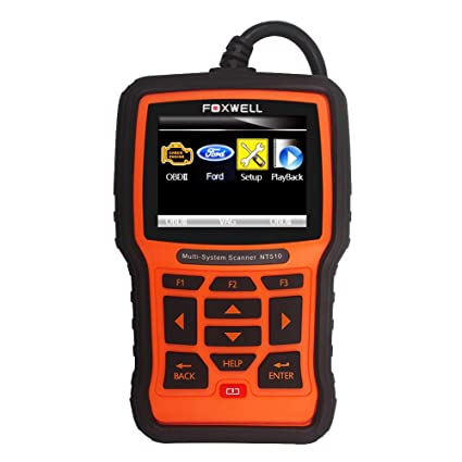Foxwell Nt Automotive Obd Ii Diagnostic Tool Ford Lincoln Mercury Multi System Code Scanner With
