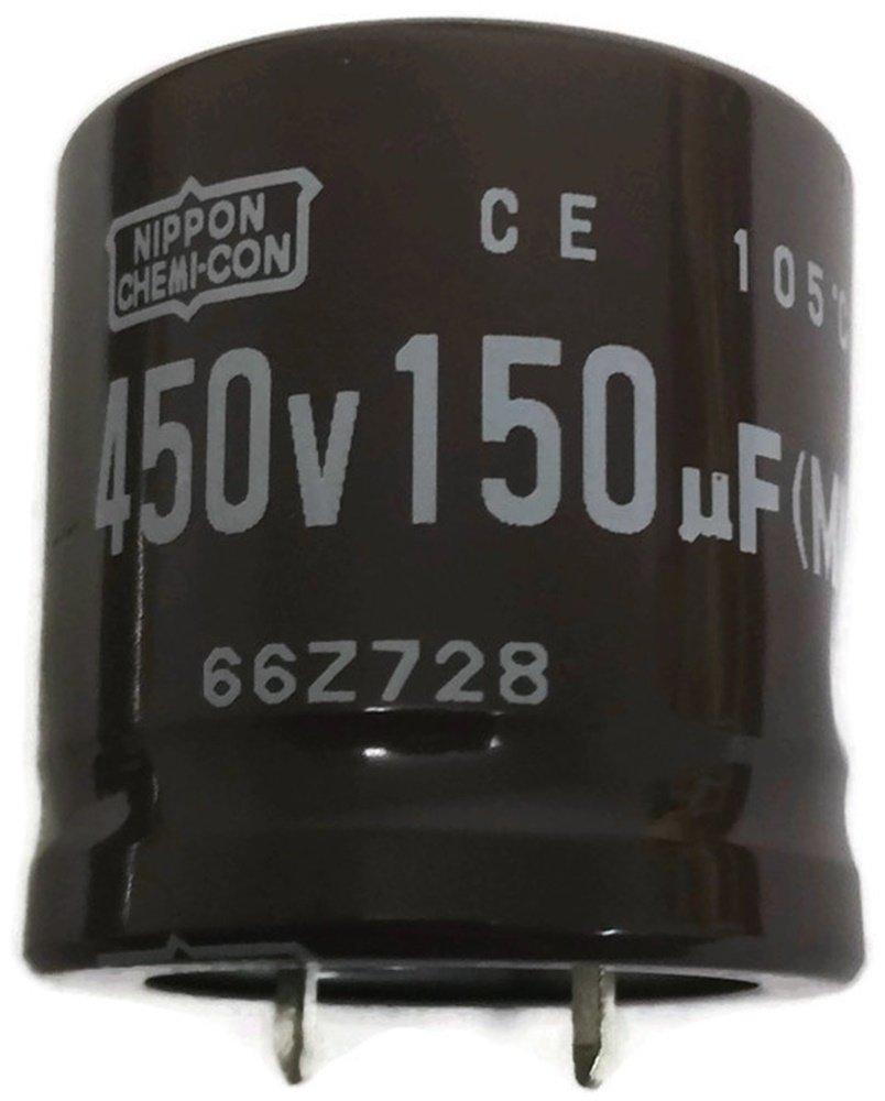 3 PCS 150UF 450V 150MFD 450Volt Electrolytic Capacitor