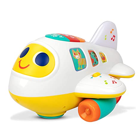 64ba0fb61 aPerfectLife Kids Toys Electronic Airplane Toys with Lights and Music Best  Kids Early Learning Educational Toys