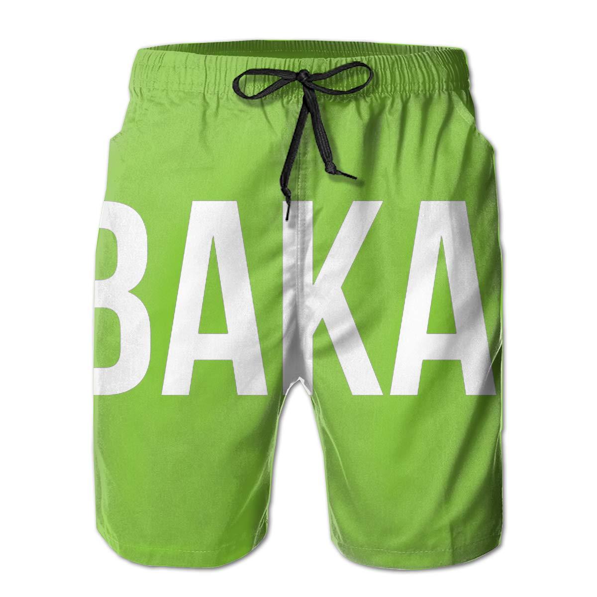 Reality And Ideals Baka Mens Swim Trunks Board Shorts