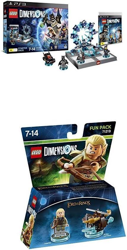 LEGO - Starter Pack Dimensions (PS3) + LEGO Dimensions - El Señor ...