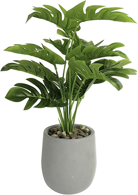 Indoor Fake Greenery Rustic Metal Decor Decorative Little Plant Small Tabletop Plant Faux Potted Plant