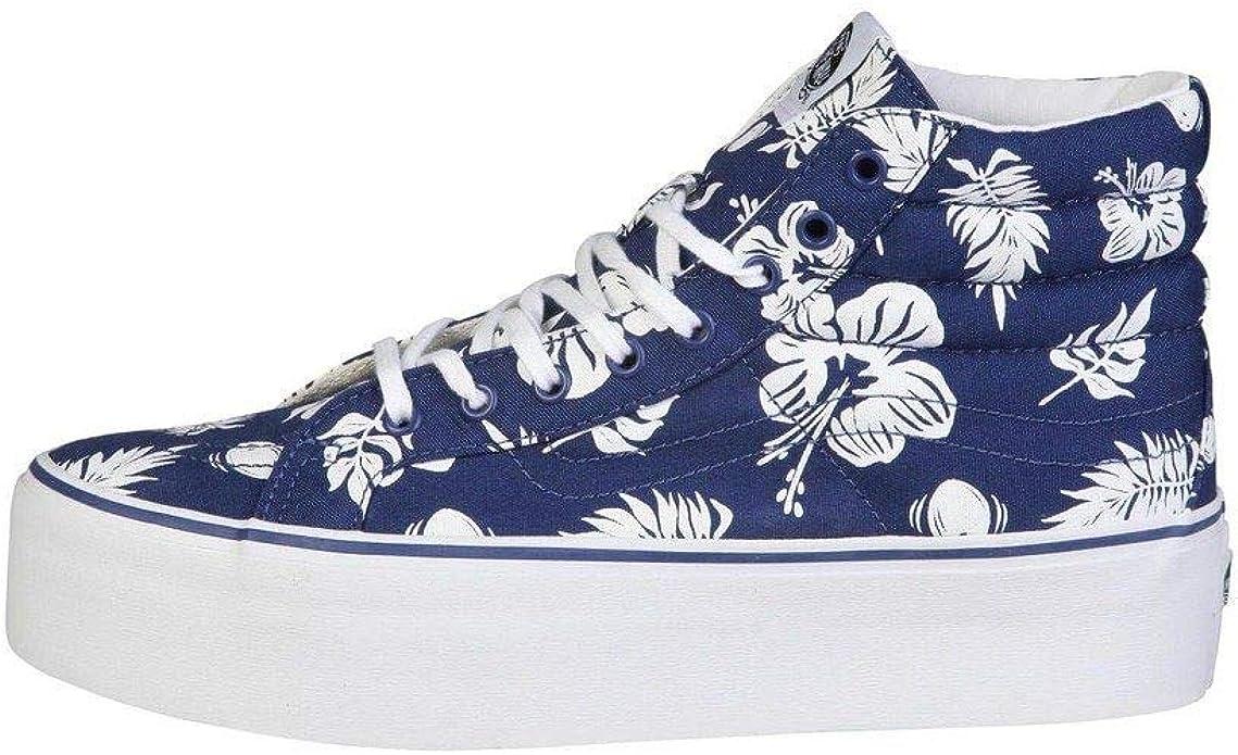 Vans Sk8-Hi Sneakers Platform Unisex Tropicoco/Blau
