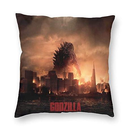Amazon.com: Love Taste Godzilla Throw Pillow Cover Holiday ...