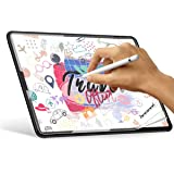 """Paperlike iPad Pro 12.9 Screen Protector (2018), iPad Pro 12.9"""" Matte PET Film for Paperlike Drawing&Writing, Fits Apple Pencil & Face ID, Anti-Glare& Anti-Slip, Bulbble-Free,Japan Imported - 1 Piece"""