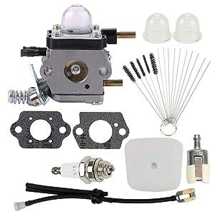 Mckin C1U-K54A Carburetor fits 2 Cycle Mantis 7222 7222E 7222M 7225 7230 7234 7240 7920 7924 Echo TC-210 TC-210i TC-2100 Tiller Cultivator C1U-K17 C1U-K27B C1U-K82