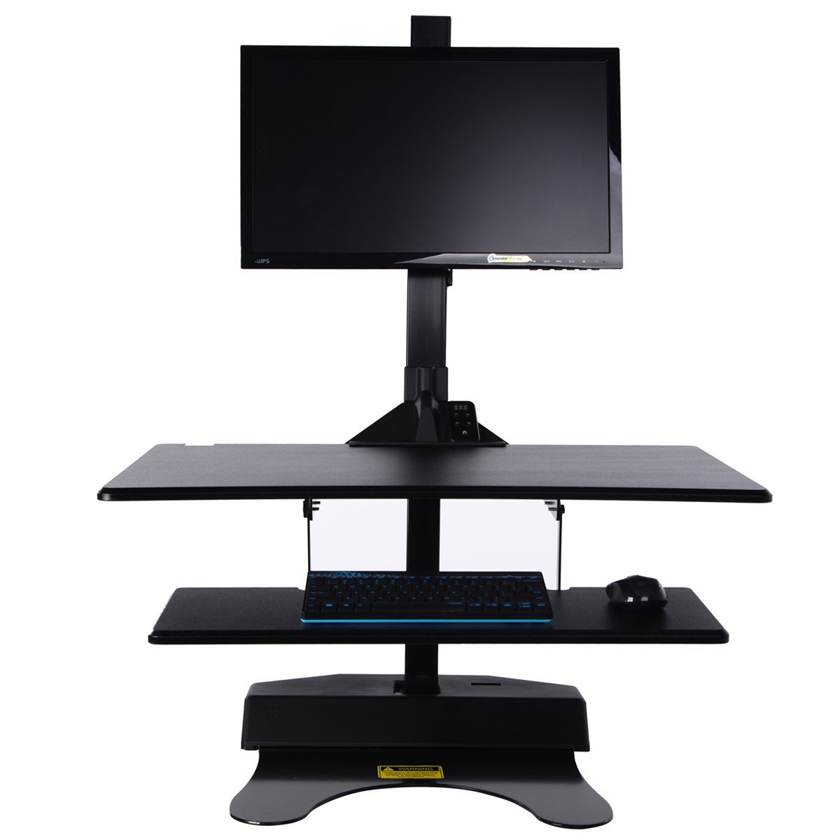Standing Desk Riser, Freemaxdesk Electric Power Remote Control Height Adjustable Sit to Stand Desk Converter with Monitor Vesa Mount ,Worksuface(26''x21'') by freemaxdesk (Image #9)