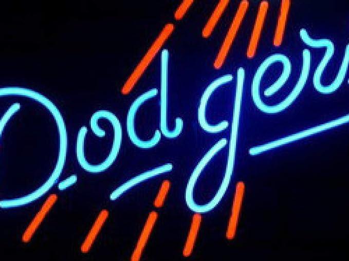 Neon Zeichen Licht Brett Für Mlb Los Angeles Dodgers Baseball Glasröhre Bierbar Pub Club Display Licht Zeichen Beleuchtung