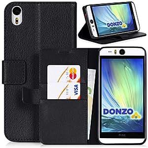 DONZO Wallet Structure Funda para HTC Desire Eye negro