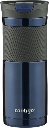Contigo SNAPSEAL Byron Stainless Steel Travel Mug, 20 oz., Monaco