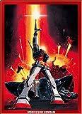 165 piece puzzle Crystal Mobile Suit Gundam last shooting (15.3cmx21.2cm)