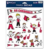 MLB St. Louis Cardinals Spirit Family Decal Sheet, 8.5 x 11-inches