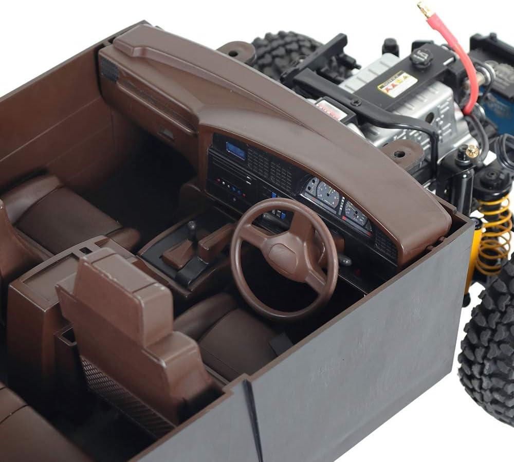 Grau Nrpfell RC Auto Shell K?Per Kit Elektrisches Lenk Rad f/ür 1//10 RC Crawler Auto TRX4 SCX10 f/ür Land Cruiser LC80 Pajero
