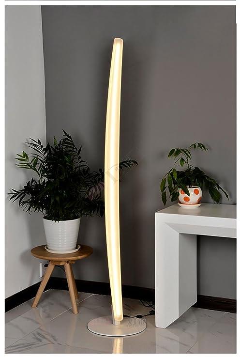 XINQIDENG Lámpara de pie de la decoración Creativa, acrílico ...
