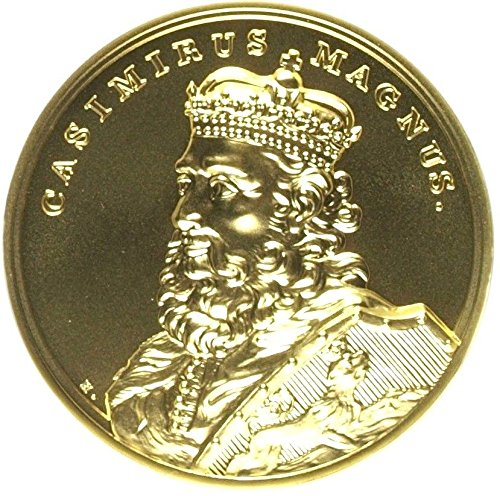 2014 PL 2014 Poland Gold 500 Zloty Casimir The Great Kazi coin MS 70 NGC