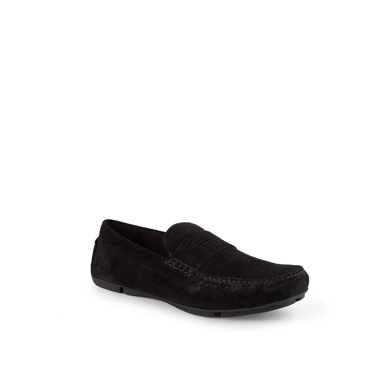 Emporio Armani Driving Shoe Hombre Zapatos Negro 42 EU|Negro