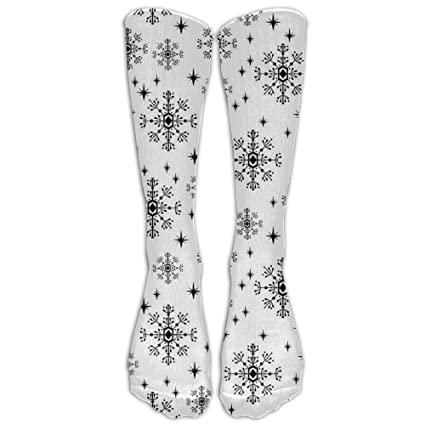ed58ce9cfc Snowflakes Christmas Holiday Winter Compression Socks For Men & Women - BEST  For Running, Nurses