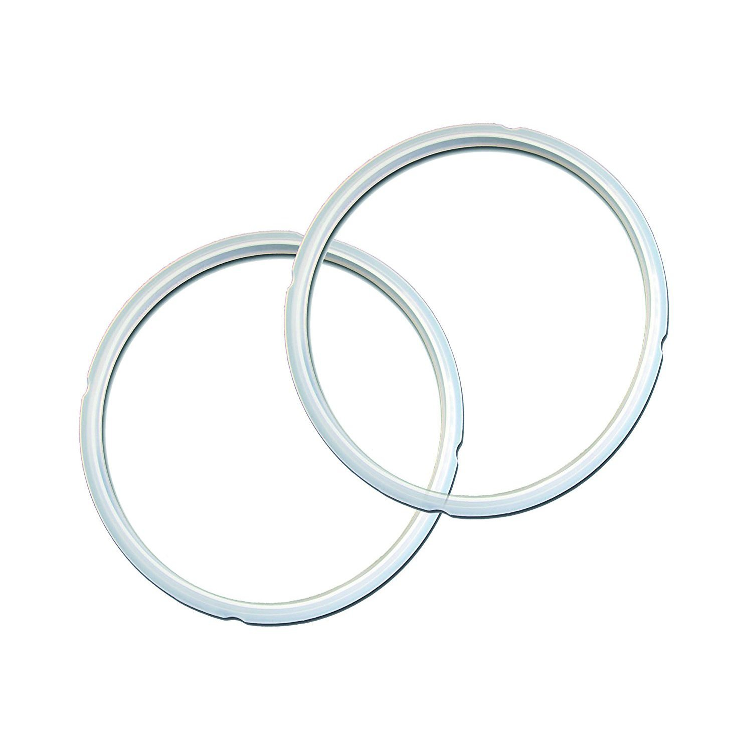 Genuine Instant Pot Sealing Rings 2-Pack - Mini 3 Quart Red/Blue RING-3-BLUE-RED-2