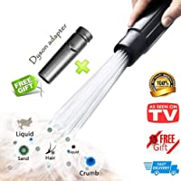 Cook Time Universal Vacuum AttachmentsBrush Cleaner Dirt Remover Vacuum Cleaning Tool Attachment Handy Flexible for Home