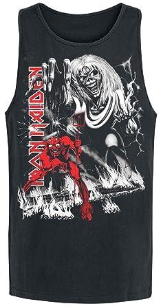 Iron Maiden NOTB B&W Camiseta Tirantes Negro S
