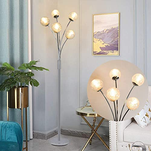Modern Globe LED Floor Lamp