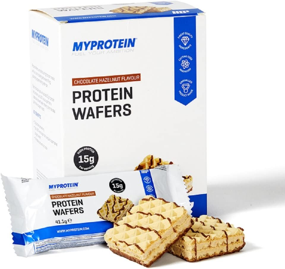 Myprotein Obleas de proteínas, Chocolate Avellana, 10x40g ...