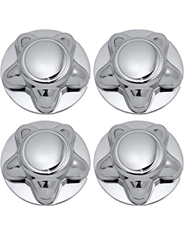 OxGord Center Caps Best for 1997-2003 Ford Expedition (Set of 4) Chrome