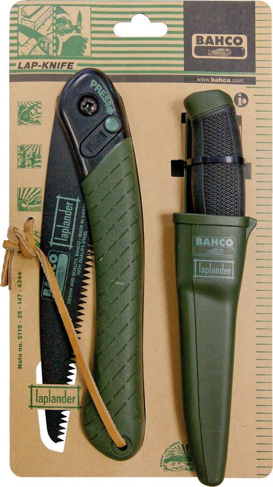Bahco plegable sierra y cuchillo Lap de Knif: Amazon.es ...