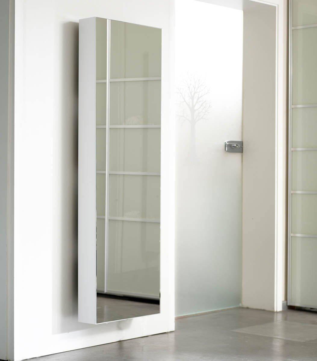 Schuhschrank SCHUH-BERT 500 Mirror drehbarer Spiegelschuhschrank ...