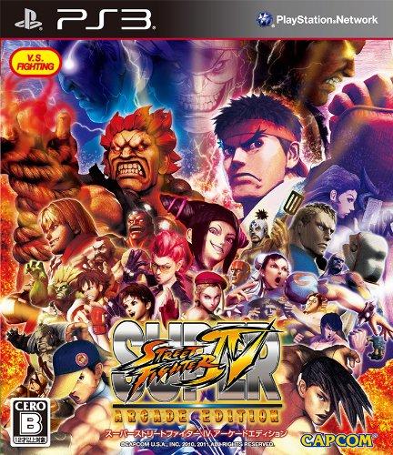 Capcom SUPER STREET FIGHTER IV ARCADE EDITION for PS3 [Japan Import] by Capcom