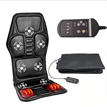 Professional Electric Car Seat Massage Cushion With 5 Model Vibration And Cord Heating Cervical Neck