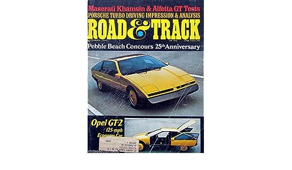 Amazon.com : Opel GT-2: 125-mph Economy Car - December, 1975 : Everything Else