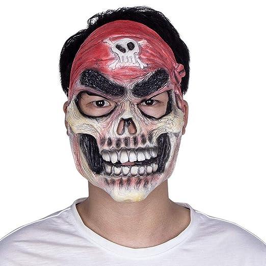 Circlefly Rendimiento de película Pirata Halloween Mascara Horror ...