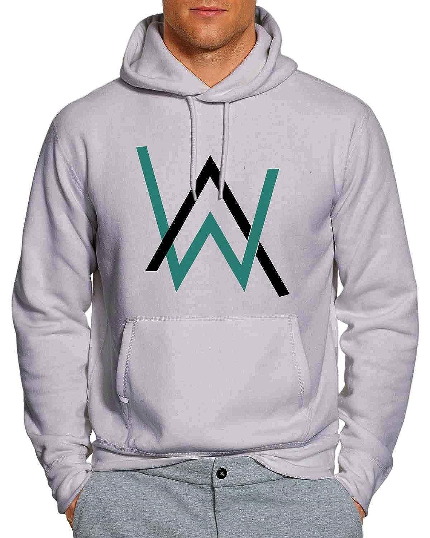 Alan Walker Hoodie Unisex Adults Wb Grey Clothing Jaket Sweater Dj Zipper