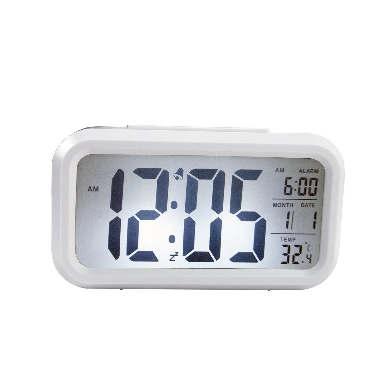 ULT-unite Morning Clock,low Light Sensor Technology, light on Backlight When Detect Low light, soft light that won't disturb the sleep, progressively louder wakey alarm wake you up softly.