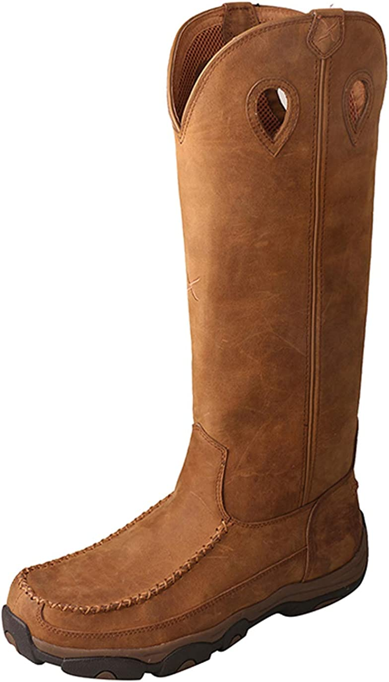 "Twisted X Men's 17"" Viperguard Waterproof Snake Tall Boots"