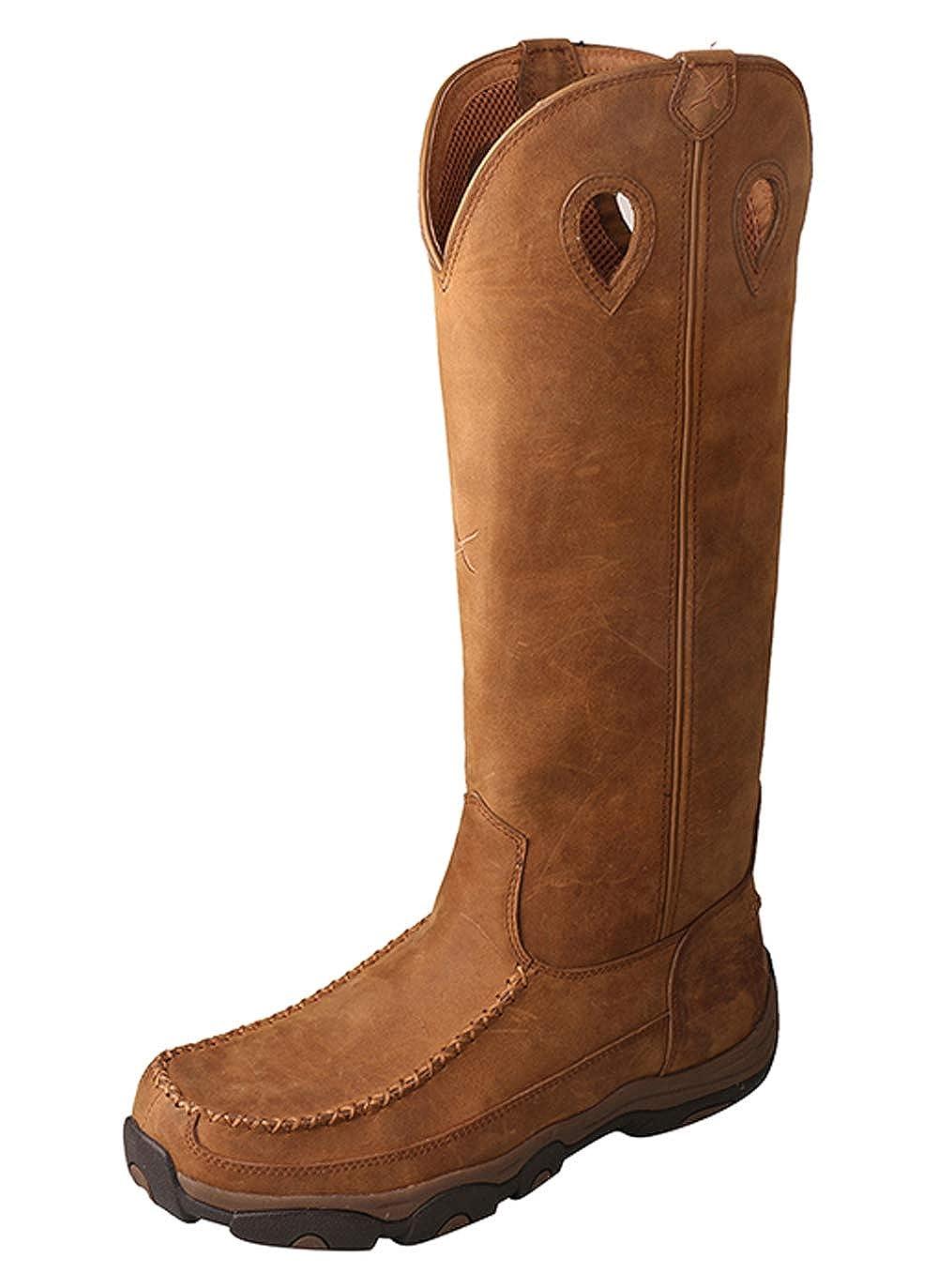人気ブランドの [Twisted X] メンズ B07DVCDSNK 13 W|Distressedsaddle/Saddle Distressedsaddle/Saddle 13 W, フェトデポムりんごの宴 c791bb87