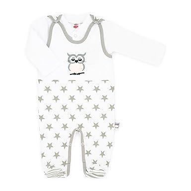 new style 7b7c7 2736e Makoma Baby-Mode Mädchen Strampler-Set mit Langarmshirt (56-74)