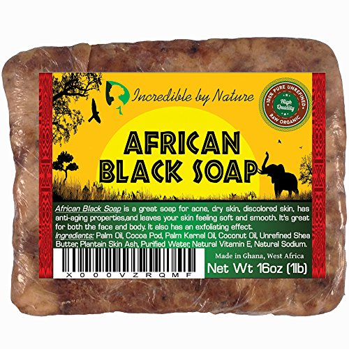 Incredible By Nature Best Quality African Black Soap