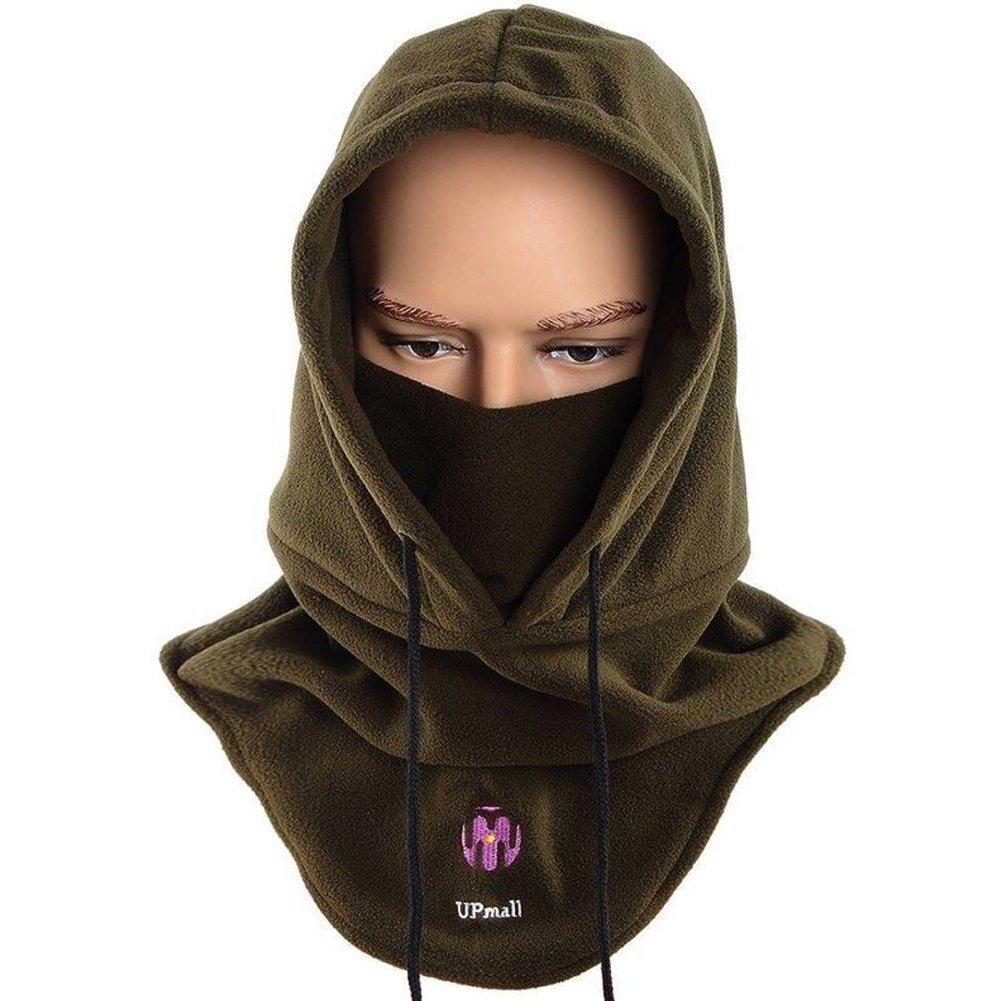 Full face mask neck warmer hood balaclava outdoor winter sports hats - Amazon Com Tactical Balaclava Ski Face Mask Windproof Fleece Hood Hat Sports Mask Army Green Sports Outdoors