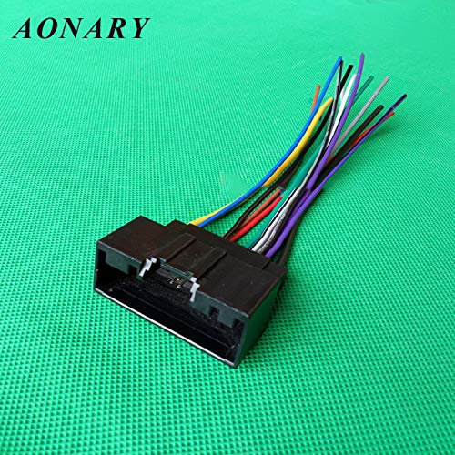 Amazon.com: Car Radio Stereo Plug Wiring Harness Wire Cable ... on