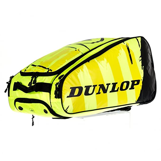 Dunlop Paletero Padel PRO negro / Amarillo: Amazon.es: Deportes y ...