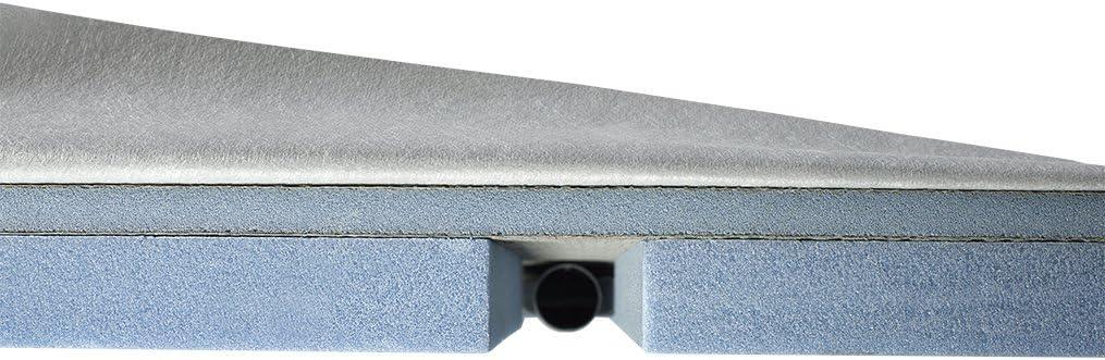 Receveur de douche a carreler compact 185 x 90 x 6,7 cm
