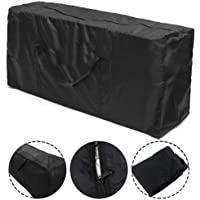 Patio Cushion Storage Bag Waterproof Outdoor Furniture Cover Durable Christmas Tree Storage Bags with Zippers Handles UV…