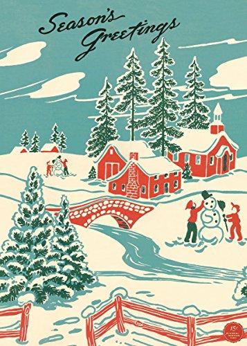 Cavallini & Co. Winter Wonderland Decorative Paper Sheet]()